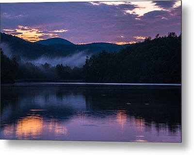 Dawn At Julian Price Lake Metal Print