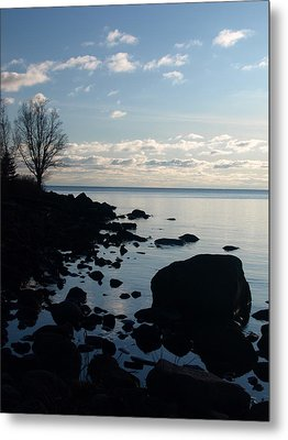 Metal Print featuring the photograph Dawn At The Cove by James Peterson