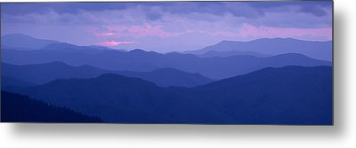 Dawn Great Smoky Mountains National Metal Print by Panoramic Images