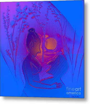 Dawn Metal Print by Latha Gokuldas Panicker