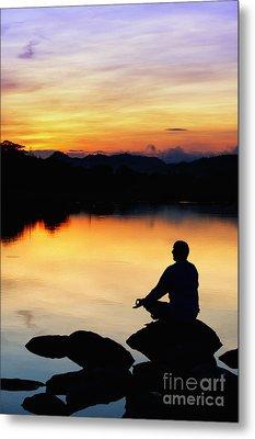 Dawn Meditation Metal Print