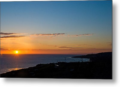 Metal Print featuring the photograph Dawn Of A New Day by Joseph Hollingsworth