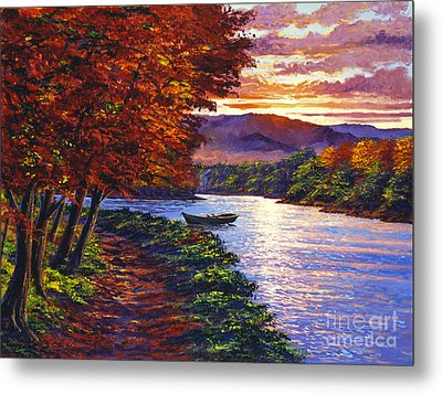 Dawn On The River Metal Print