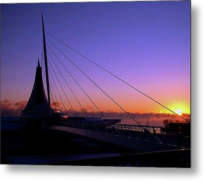 Metal Print featuring the photograph Dawn Over The Calatrava by Chuck De La Rosa