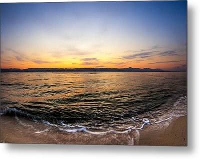 Dawn Over The Red Sea Metal Print by Mark E Tisdale