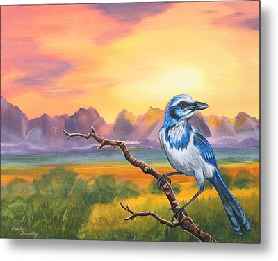 Dawn Sentinel Metal Print by Emily Brantley