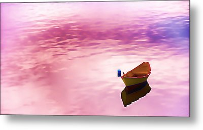 Dawns Light Reflected Metal Print by Jeff Folger