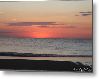 Metal Print featuring the photograph Dawn's Spreading Light by Robert Banach