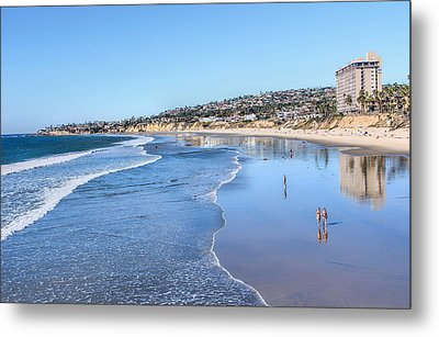 Day At The Beach Metal Print by Tammy Espino