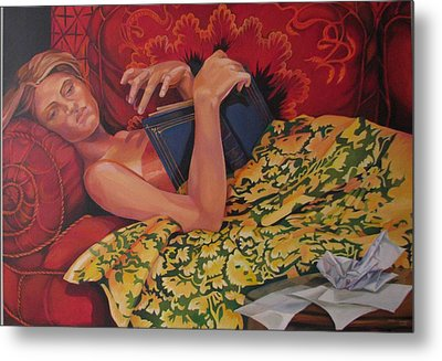 Day Dreaming Metal Print by Julie Orsini Shakher