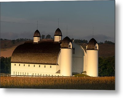 Day Farm Barn Metal Print