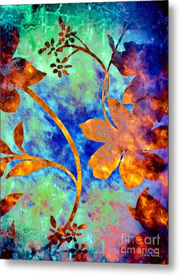 Day Glow Metal Print by Darla Wood