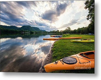 Metal Print featuring the photograph Day Is Done by Kari Yearous