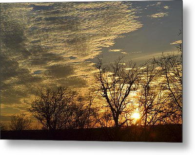 Day Is Done Metal Print by Teresa Dixon