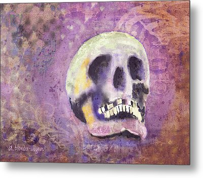 Metal Print featuring the digital art Day Of The Dead by Arline Wagner