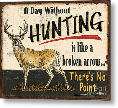 Day Without Hunting Metal Print by Don Day Jq Licensing