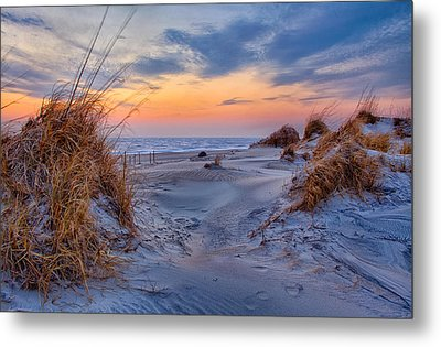 Daybreak On The Outer Banks 1 Metal Print