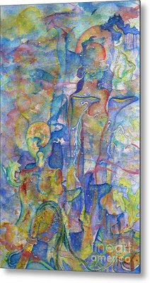 Daydream - Life Metal Print by Jacquelyn Roberts