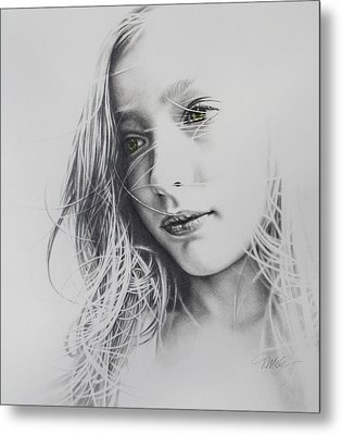 Daydreaming Metal Print by Tracy Male