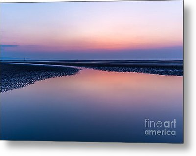 Days End Metal Print by Adrian Evans