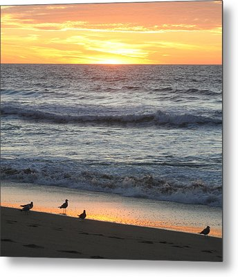 Days End Metal Print