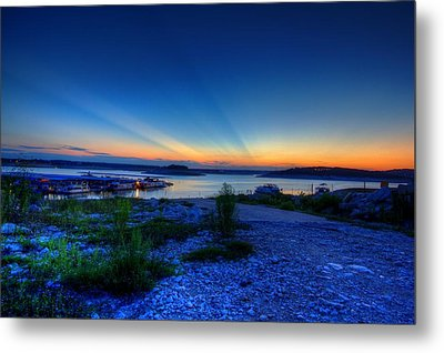 Metal Print featuring the photograph Days End by Dave Files