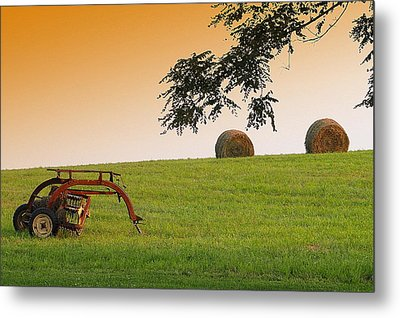 Day's End Metal Print by Mary Beth Landis