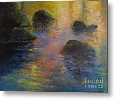 Day's End Metal Print by Melody Cleary