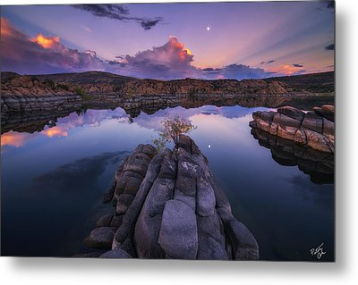 Days End Metal Print by Peter Coskun