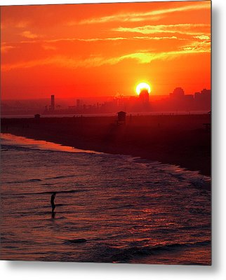 Metal Print featuring the photograph Days End by Tom Kelly