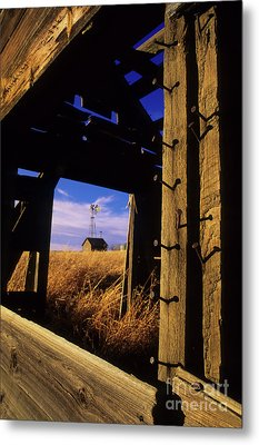 Days Gone By Metal Print by Bob Christopher