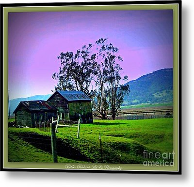 Metal Print featuring the photograph Days Gone By by Bobbee Rickard