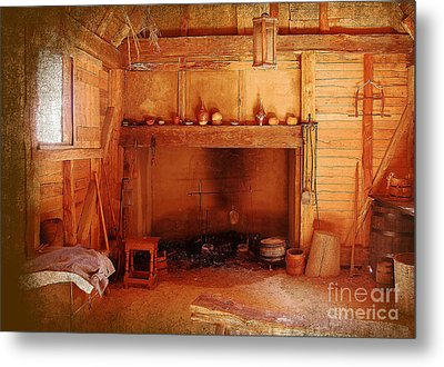 Metal Print featuring the photograph Days Gone By - Charles Town Landing by Kathy Baccari