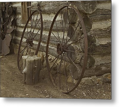 Metal Print featuring the photograph Days Gone By by Kathleen Scanlan