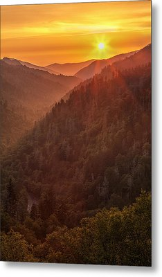 Day's Last Light Metal Print