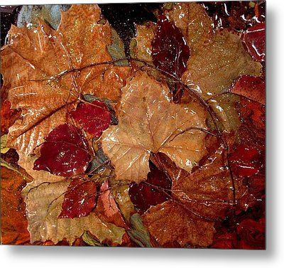 Days Of Autumn Metal Print by Patrick Mock