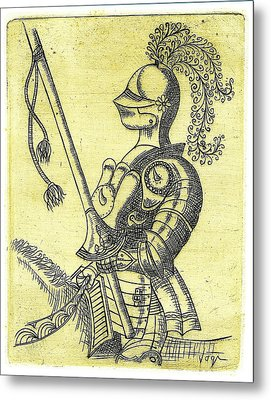 Days  Of  Camelot Metal Print by Hartmut Jager