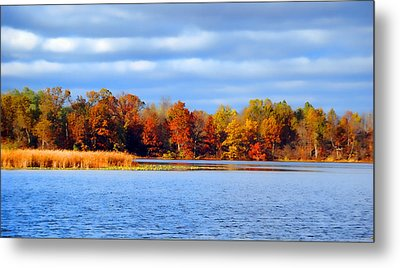 Dayton Lake Metal Print