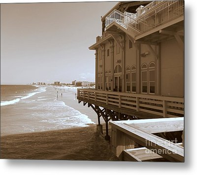 Metal Print featuring the photograph Daytona's Eat At Joe's by Jeanne Forsythe