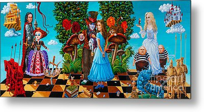 Daze Of Alice Metal Print by Igor Postash