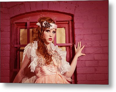 Dazzling Earth Angel  Metal Print by Kriss Russell