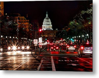 Dc In The Dark Metal Print