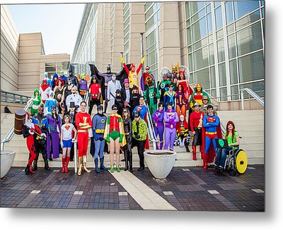 Dc Universe C2e2 2013 Metal Print by Andreas Schneider