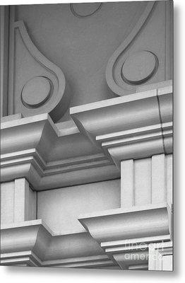 De Pauw University Detail Metal Print by University Icons