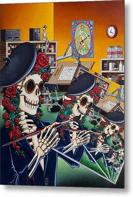 Dead Artist Society Metal Print