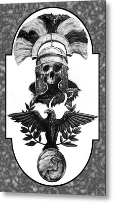 Dead Centurion Metal Print