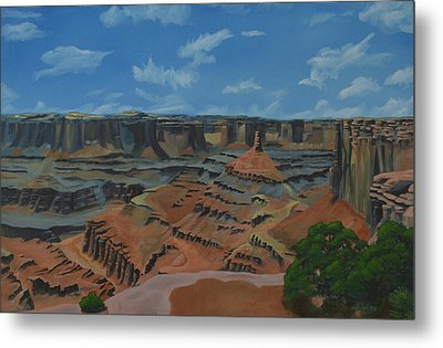 Dead Horse Point Metal Print by Nick Froyd