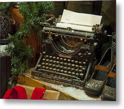 Dear Santa Metal Print by Craig T Burgwardt