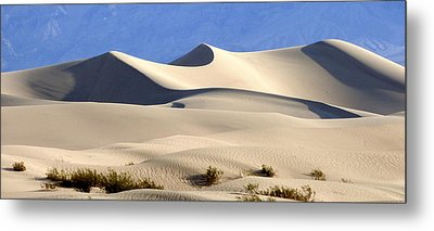 Death Valley Sand Dunes Metal Print by Amelia Racca