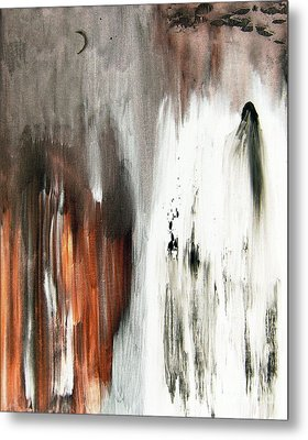 Metal Print featuring the painting Deathless by Christine Ricker Brandt